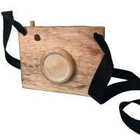 cámara fotos madera