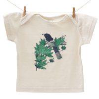 remera para bebé de algodón natural